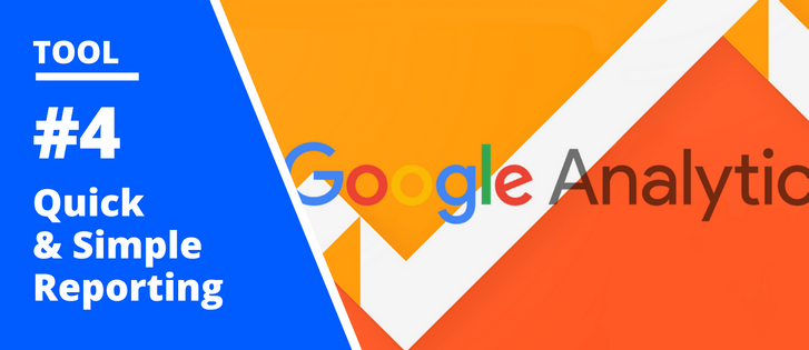 Google Analytics, Website Reporting